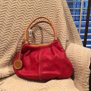 Candy apple red Brighton hand bag - brand new